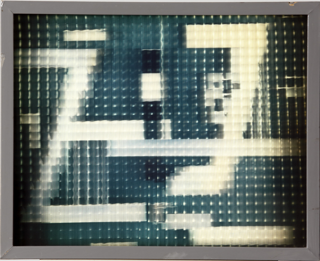 ", 'Light sculpture ""Vitrine"",' 1990s, Annely Juda Fine Art"
