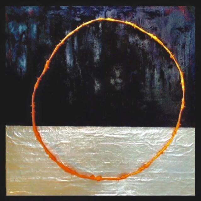 , 'Ring Painting #3,' 2015, InLiquid
