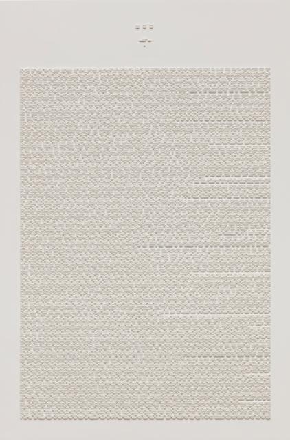 , 'L' Etranger Albert Camus Pp. 25-80,' 2017, Gallery Baton