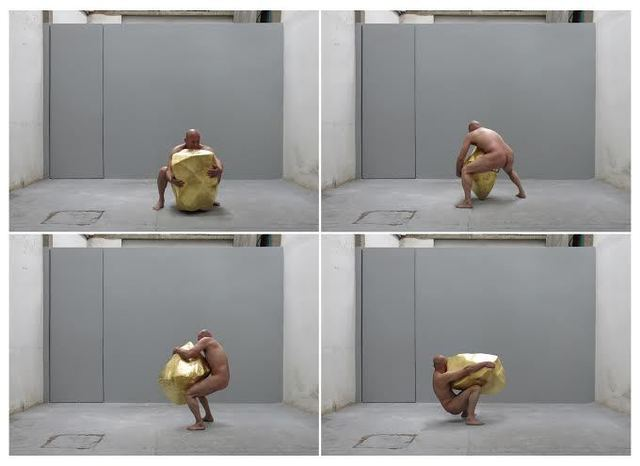 , 'Man and Gold (video),' 2013, +MAS: ARTE CONTEMPORANEO