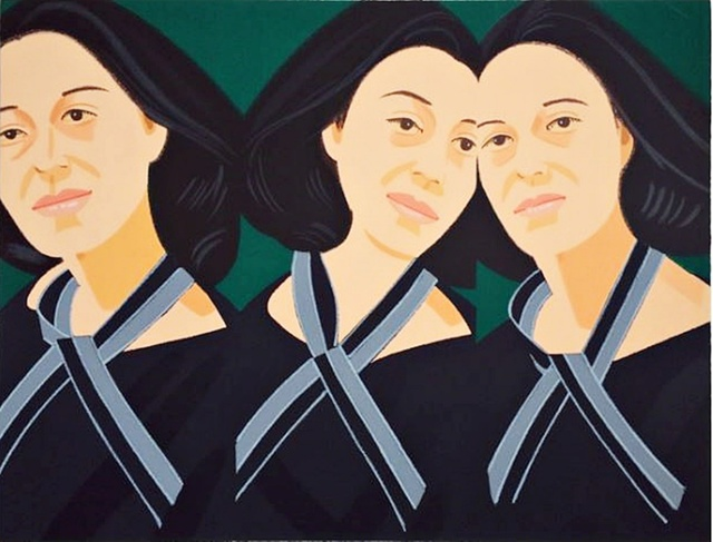 Alex Katz, 'Grey Ribbon (from Alex and Ada, the 1960s to the 1980s Portfolio)', 1990, Alpha 137 Gallery Auction