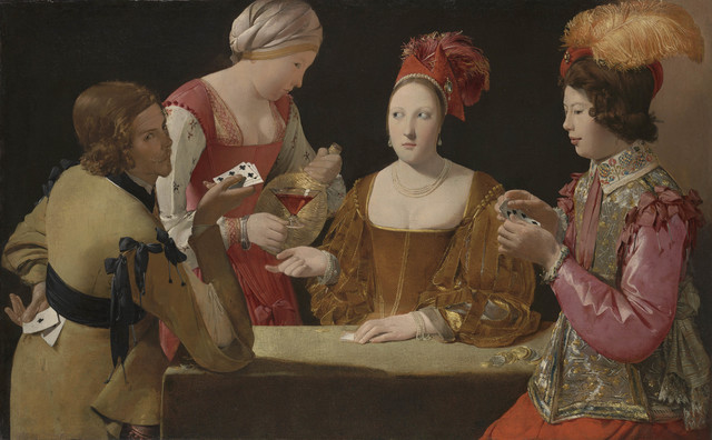 , 'The Cheat with the Ace of Clubs,' 1630-1634, The National Gallery, London
