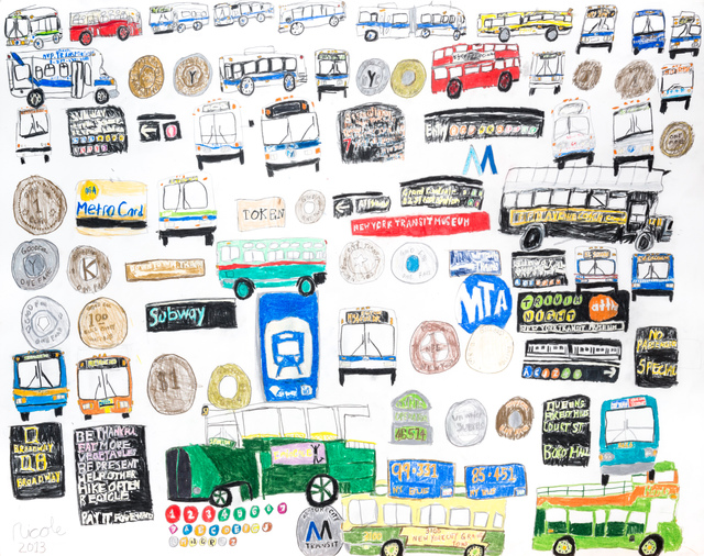 Nicole Appel, 'MTA Transit', 2013, Land Gallery/NAP Projects