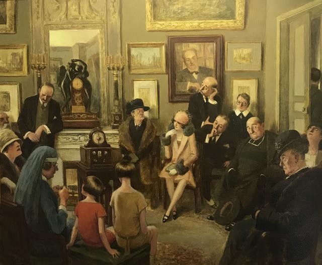, 'Radio Sermon,' 1920s, Madelyn Jordon Fine Art