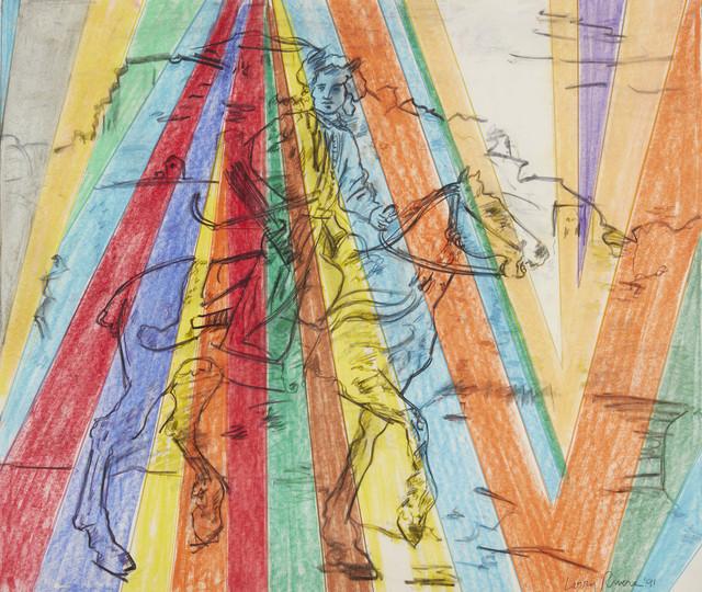 , 'The Polish Rider,' 1991, Davidson
