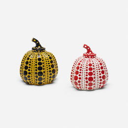 Pumpkins, set of two