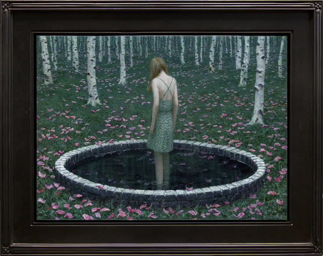 Aron Wiesenfeld, 'The Pool', 2019, Painting, Oil on Canvas, ARCADIA CONTEMPORARY