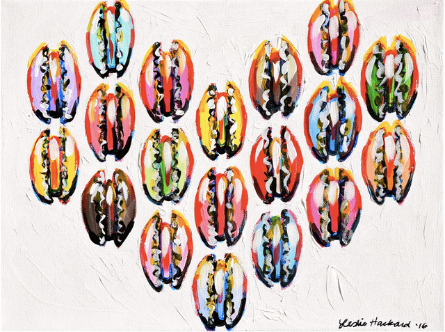 Leslie Hackard, 'Small Macaron Heart', Tim Collom Gallery