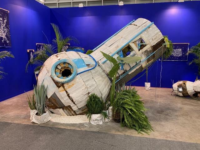 , 'Tropical Space Hostel,' 2019, MAIA Contemporary
