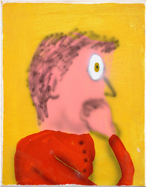 Austin Lee, 'Nervous Guy', 2014, Painting, Flashe acrylic on canvas, Phillips