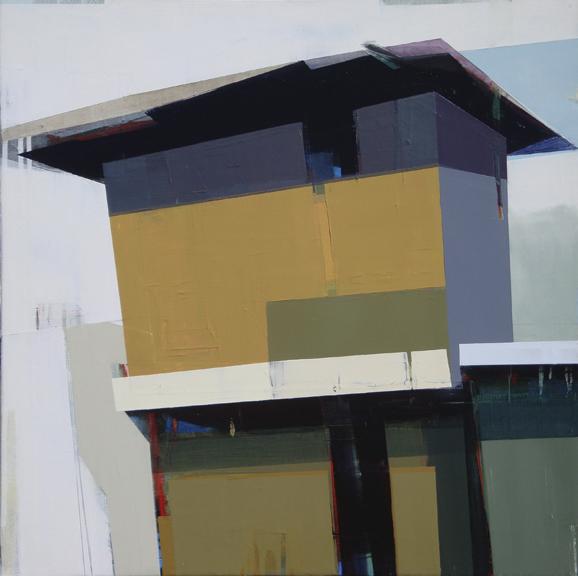 , 'A Yellow House,' , Merritt Gallery