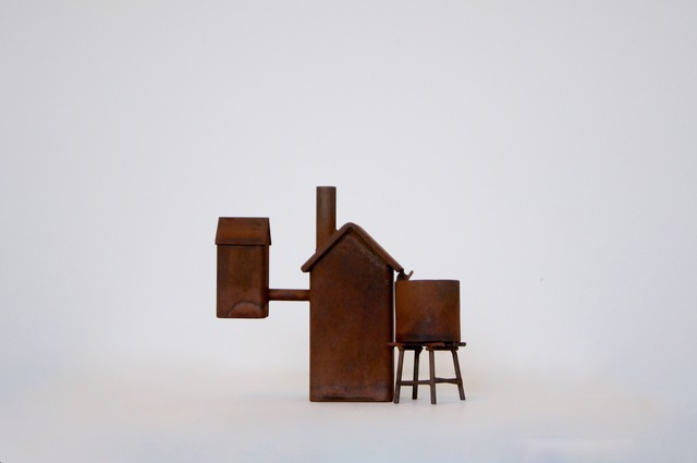 , 'House with tank and spare room,' 2015, Bath Street Gallery