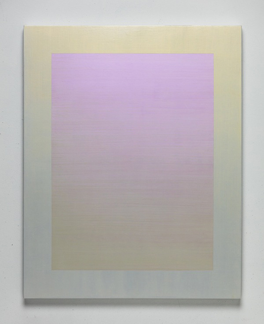 , 'Interference (yellow-violet),' 2018, K. Imperial Fine Art