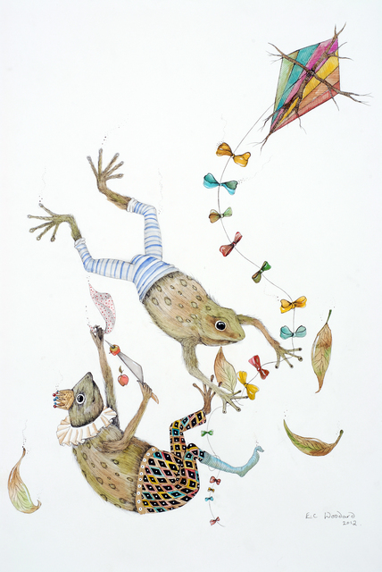 , 'Tumbling Toads,' 2012, Bluerider ART