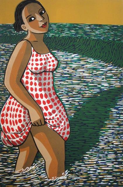 , 'Paddling,' 2015, Eames Fine Art