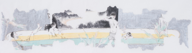 , '春光圖 Men in Bathtub,' 2016, Artify Gallery