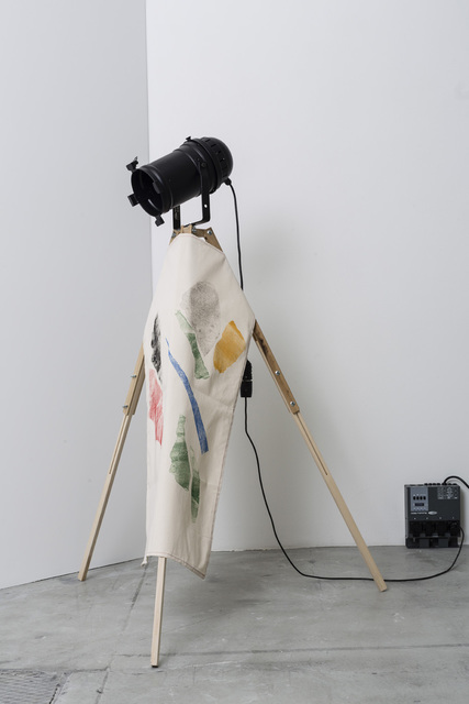 , 'Fragments of My Dinner with Aurora Sander (Tripods),' 2014, Galleri Nicolai Wallner