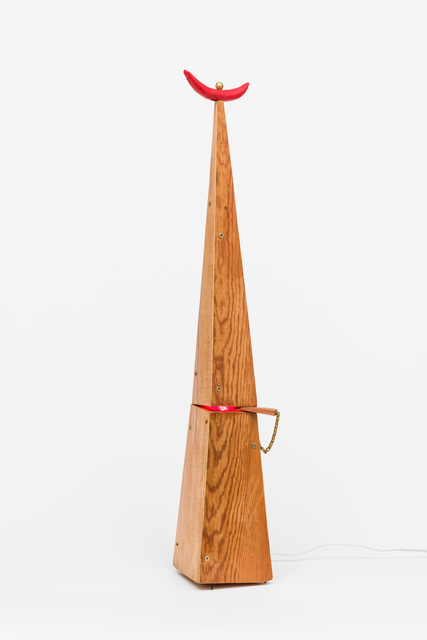 , 'House Lamp for Charles Scudder and Joseph Odom,' 2018, Lora Reynolds Gallery
