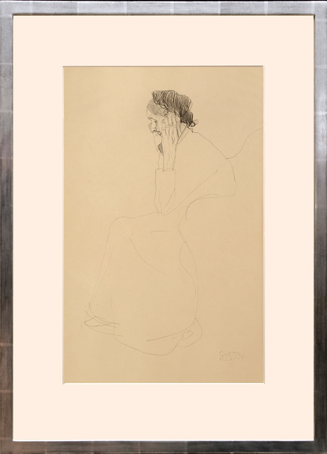 , 'Studie einer alten Frau. Study of an old woman.,' 1919, Peter Harrington Gallery