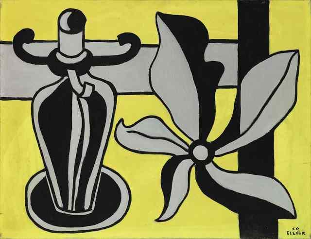 , 'Le chandelier sur fond jaune,' 1950, Opera Gallery