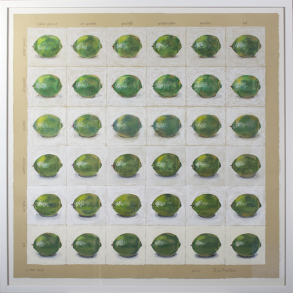 , 'Lime (36),' 2017, David Barnett Gallery