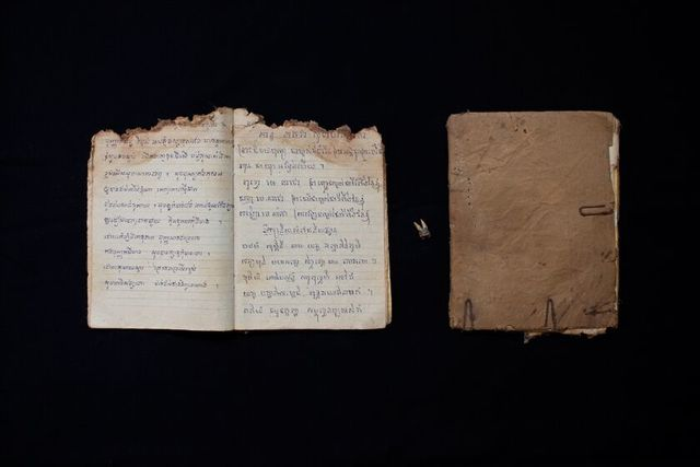 Kim Hak, 'Notebooks and Tooth of the Dead- ALIVE series', 2014, Sundaram Tagore Gallery