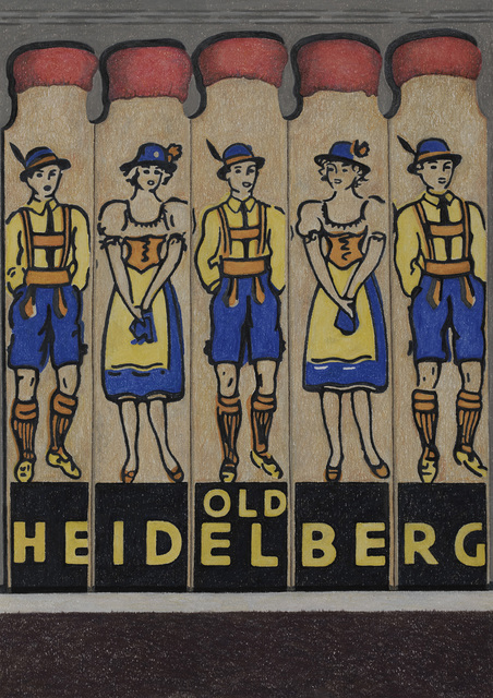 , 'Old Heidelberg,' 2018, Sims Reed Gallery