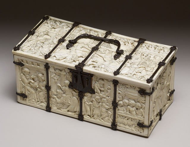 'Casket with Scenes of Romances', 1330-1350, Walters Art Museum