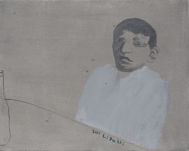 , 'Man in White,' 2011, Aye Gallery