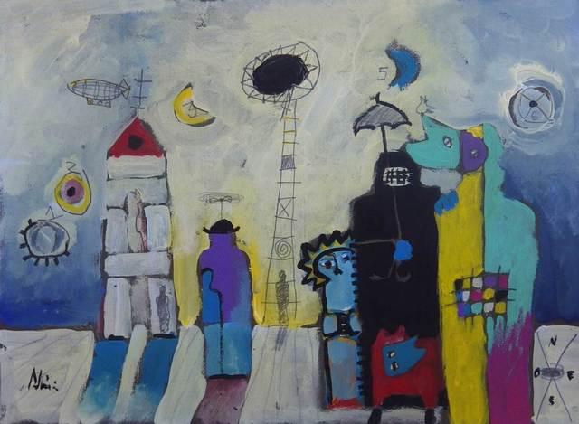Manuel Adria, 'El Dia de las Seis Lunas', Galleria Dante