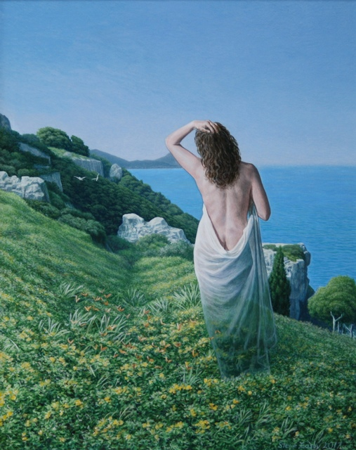 , 'The Apparition of Aphrodite,' 2017, Portal Painters