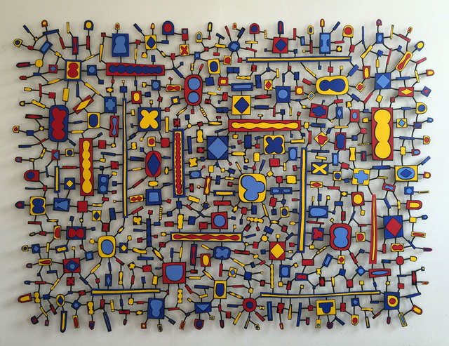 Tom Nussbaum, 'East Orange Boogie Woogie', 2015, Sculpture, Acrylic on steel, Octavia Art Gallery