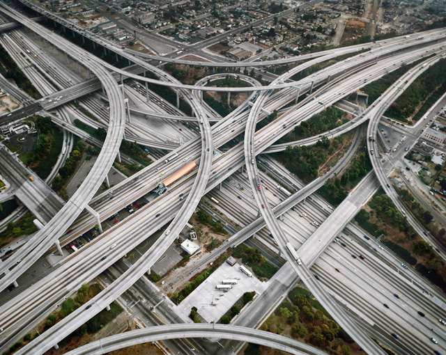 , 'Highway #2, Intersection 105 & 110 Los Angeles, California,' 2003, Bryce Wolkowitz Gallery