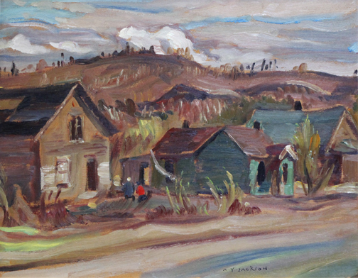 , 'STREET IN KIRKLAND LAKE,' 1951, Roberts Gallery Ltd.