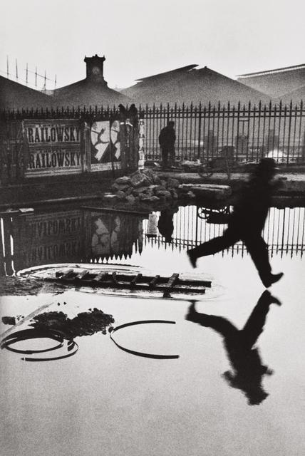 Henri Cartier-Bresson, 'Behind the Gare Saint-Lazare, Paris', 1932, Phillips