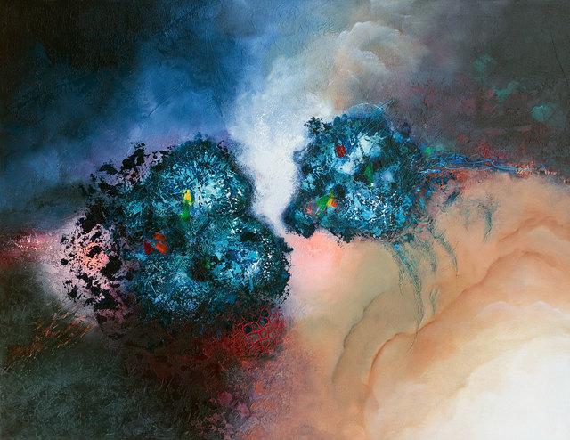 , 'Blue Zircon,' 2016, Albemarle Gallery | Pontone Gallery