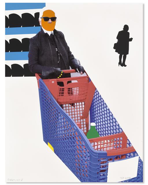 , 'Karl Lagerfeld,' 2015, Gemini G.E.L. at Joni Moisant Weyl