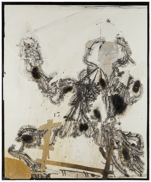 , 'Needles II,' 2017, Diana Lowenstein Gallery