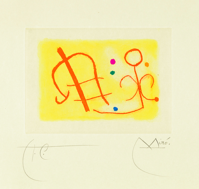 Joan Miró, 'Untitled from Fusées', 1959, Christopher-Clark Fine Art