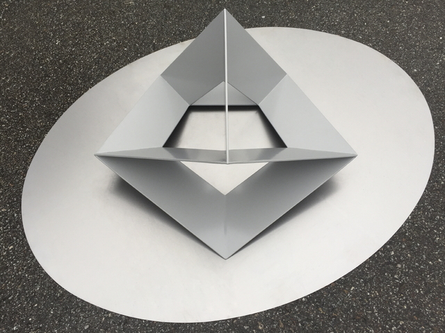, 'meta-cube,' 2017, Gallery EM