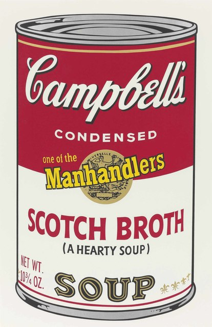 Andy Warhol, 'Scotch Broth, from: Campbell's Soup II', 1969, Christie's