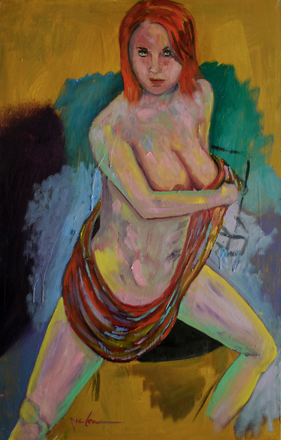 Ric Conn, 'Scarf of Many Colors', 2019, Nude Nite After Hours