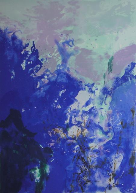 Zao Wou-Ki 趙無極, 'Olympic Centennial', 1992, Art Works Paris Seoul Gallery