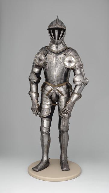 Kunz Lochner, 'Armor of Emperor Ferdinand I (1503–1564)', 1549, The Metropolitan Museum of Art