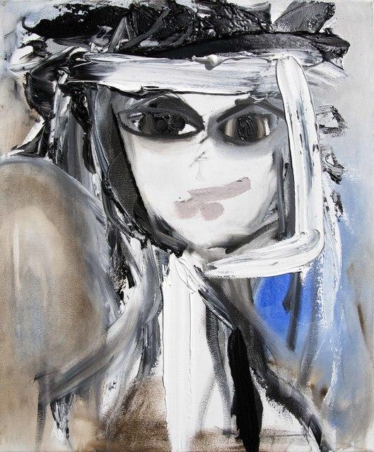 , 'Self-Portrait Blue Monday,' ca. 2018, Samuel Lynne Galleries