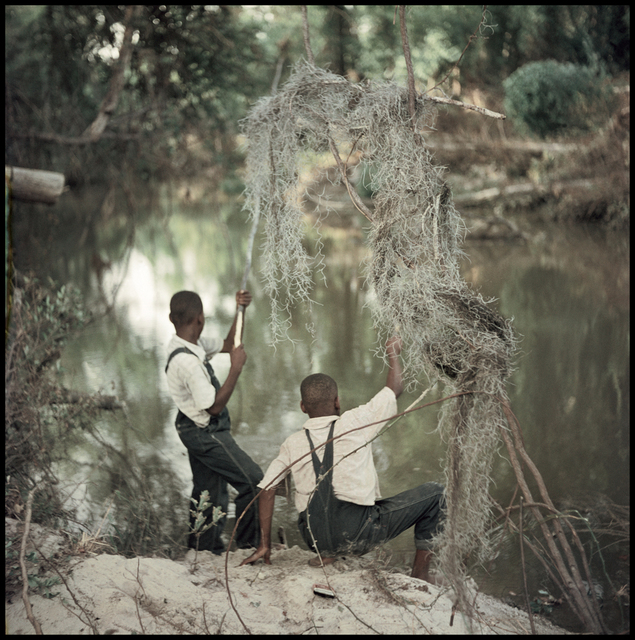 , 'Untitled, Shady Grove, Alabama (Boys Fishing 37.048),' 1956, Robert Klein Gallery