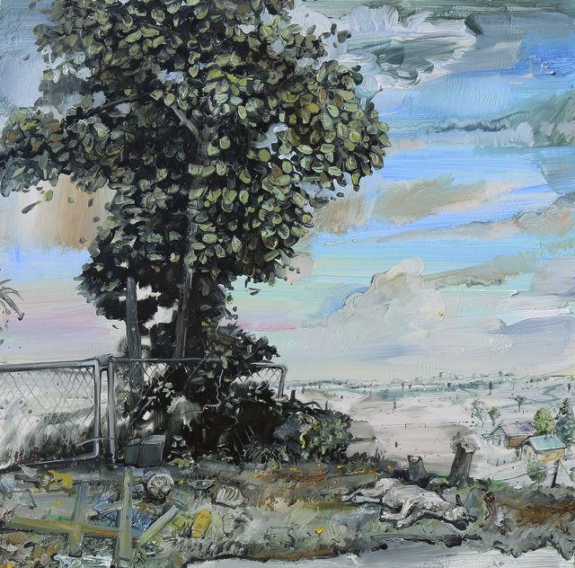 , 'Pond, Sleeping Dog,' 2015, Arthur Roger Gallery