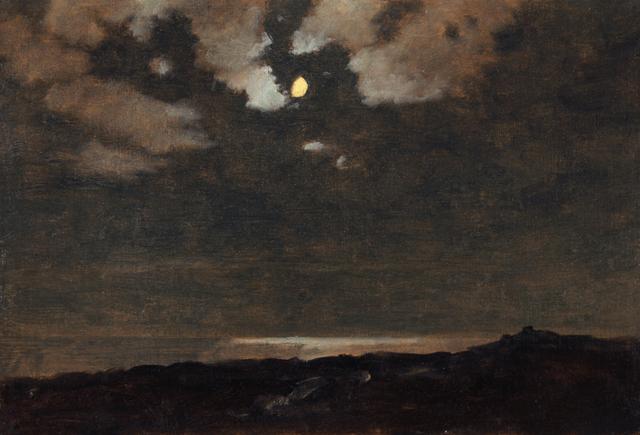 , 'Moon in Trailing Clouds,' 1901, Sullivan Goss