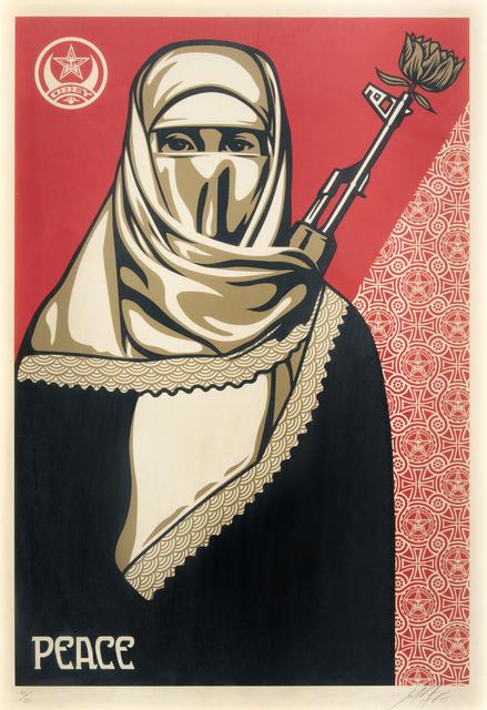 Shepard Fairey, 'Muslim Woman', 2005, Tate Ward Auctions