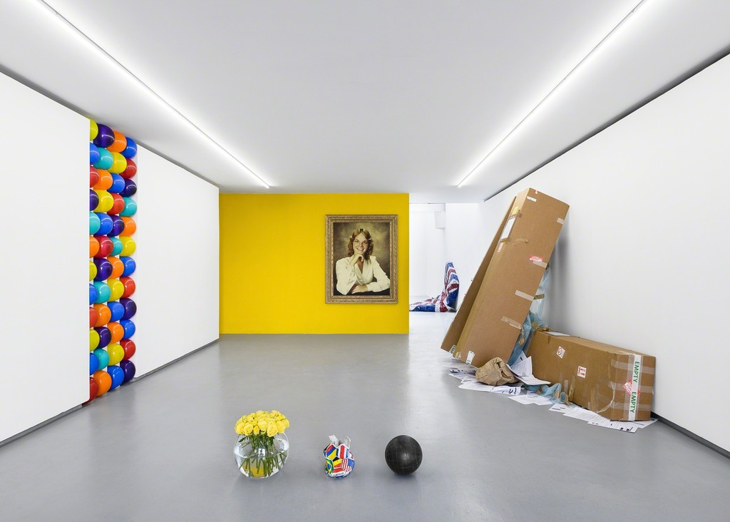 "Exhibition view: ""Cauling All My Contemporaries... (To Come Burst My Bubble)"", solo show by GRAHAM WILSON. © Photo: Grégory Copitet / Courtesy of the artist and Valentin, Paris."